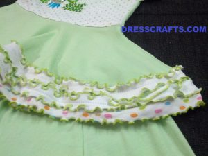 Skirt Hemline with lace - Part of Circular frock