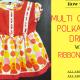 Multi Colored Polka Dots Dress