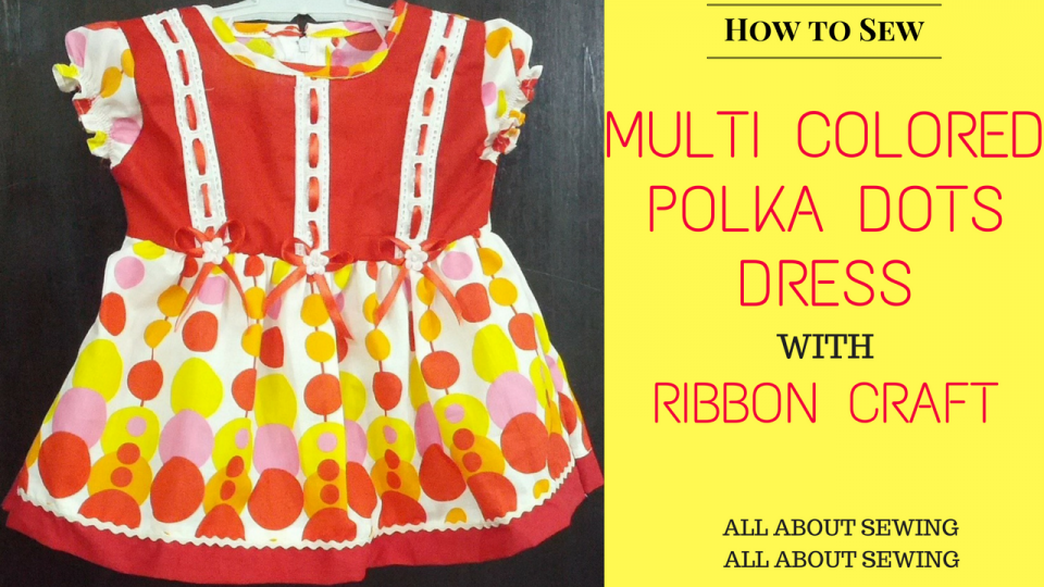 Multi Colored Polka Dots Dress