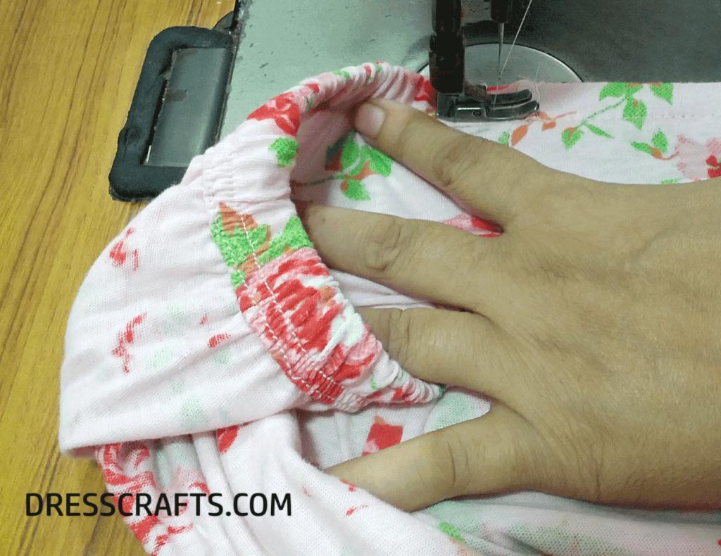 Elastic Waistband Stitching