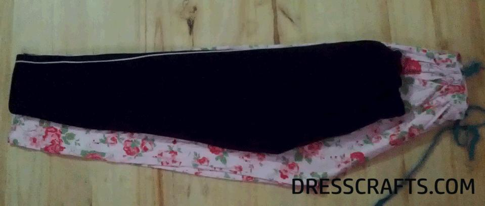 Use Desire Size Pajama as Pattern