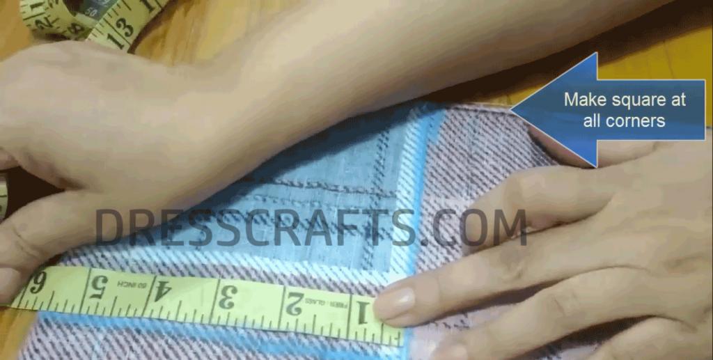 fitted bedsheet corner measurement