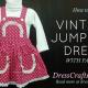 Sew Vintage Jumpsuit Dress with Pattern