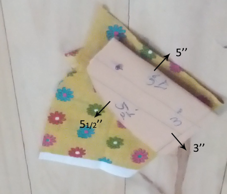 Wrap dress - sleeves Pattern