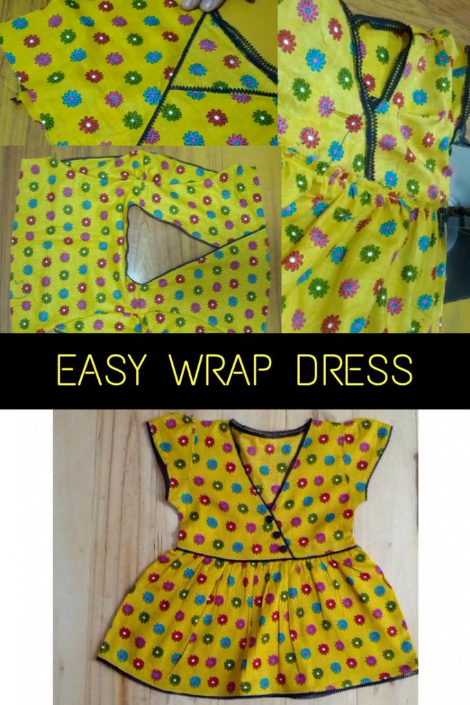 Basic Easy Wrap Dress