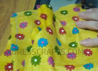 wrap dress - step4