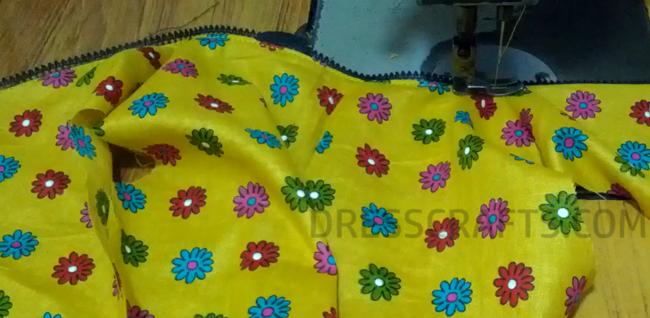wrap dress - step8
