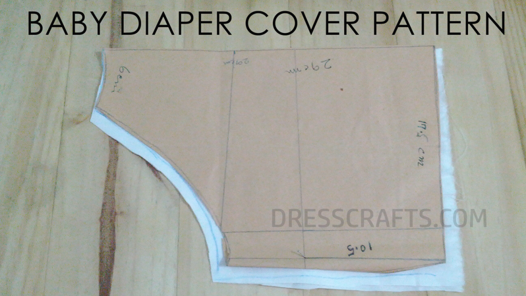 Free pattern for diaper cover