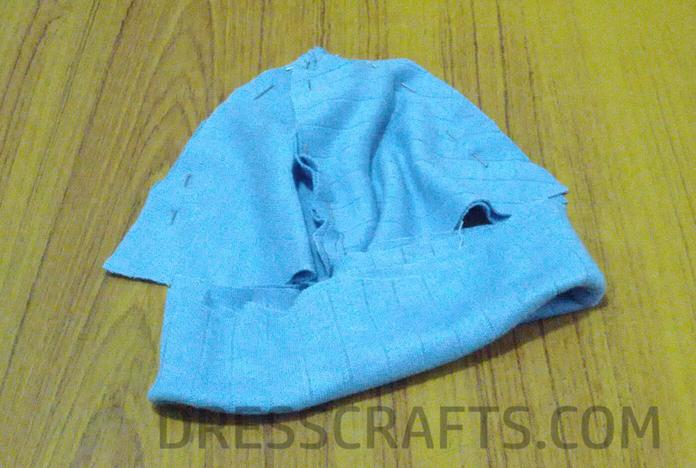 Simple hat demonstration: Step 7