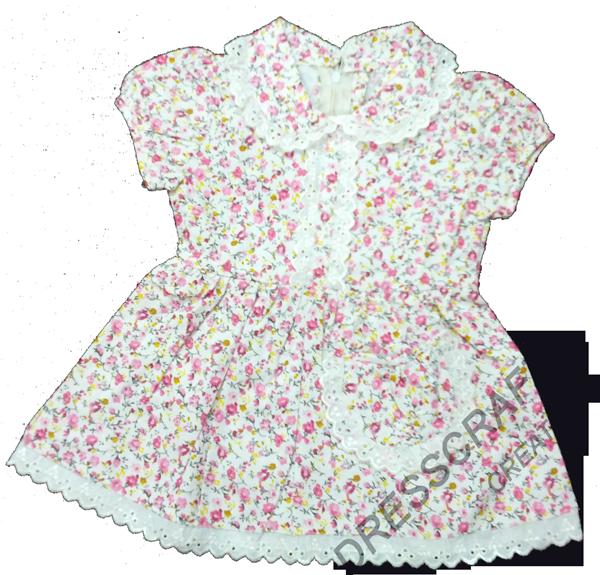 PETERPAN COLLAR AND SIMPLE BABY DRESS