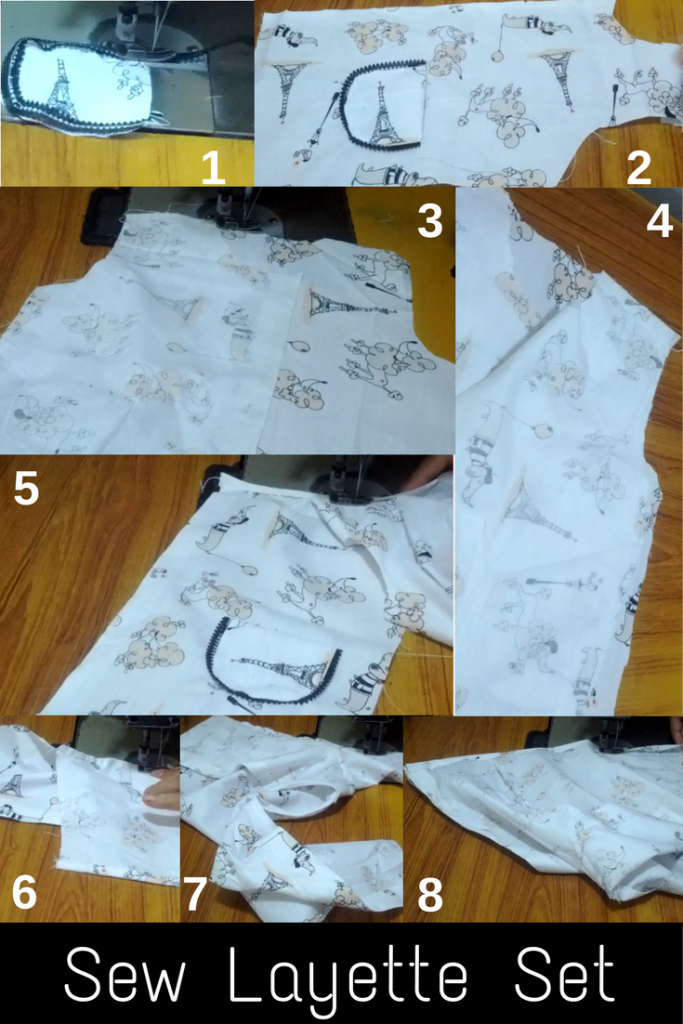 Newborn Set Basic Sewing Steps