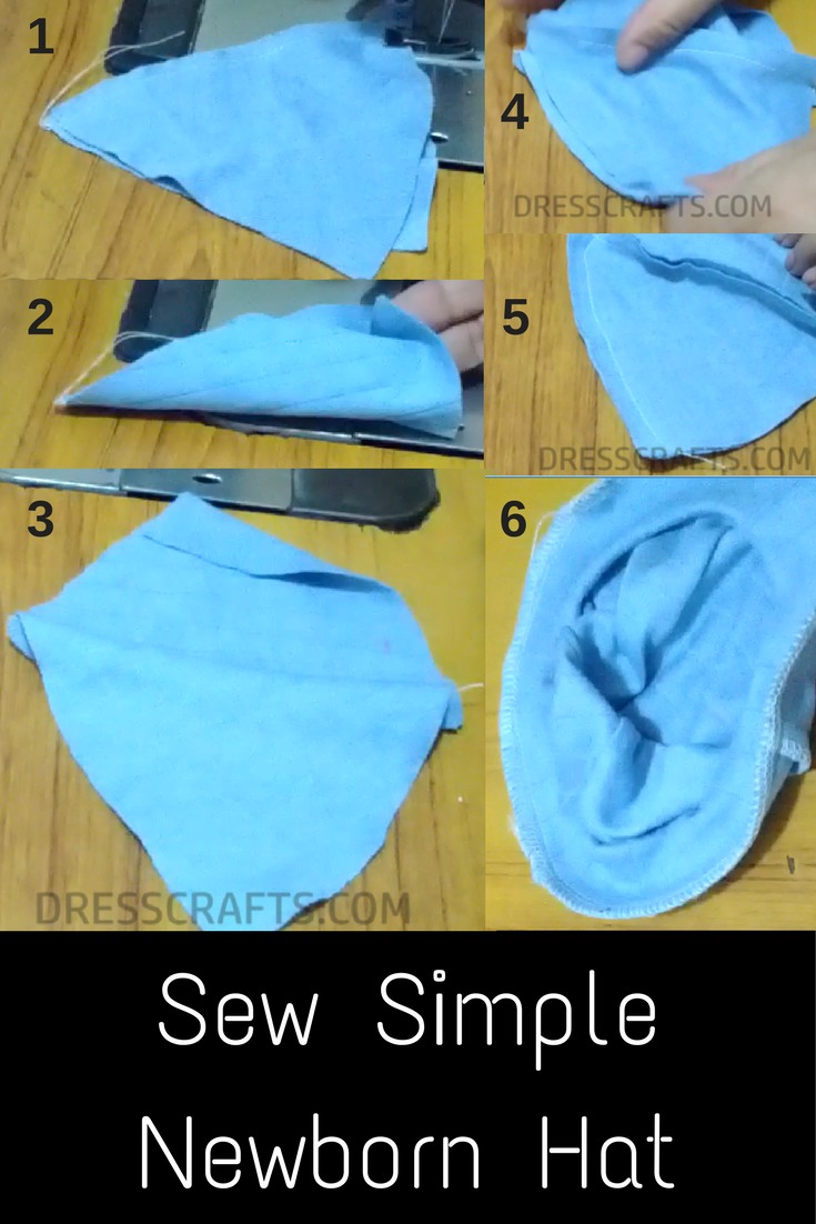 Newborn Hat: Sewing Steps