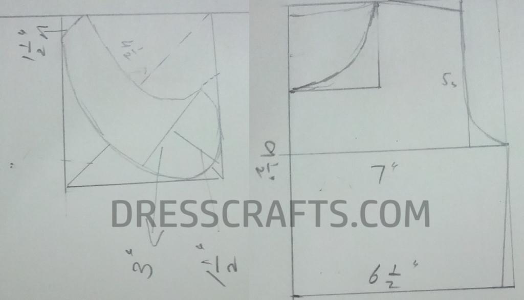 Flat Collar Dress Pattern