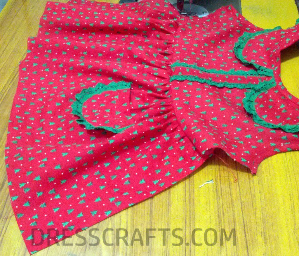 Step 3 - Flat Collar Derss