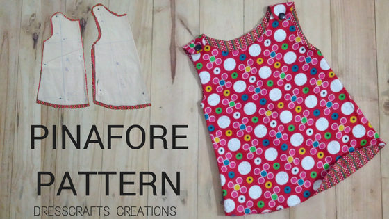 SEW PINAFORE WITH PATTERN