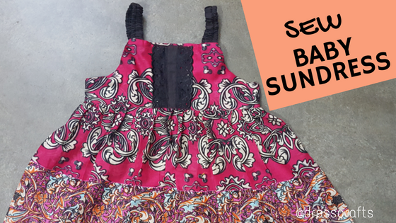 Sew baby Sundress