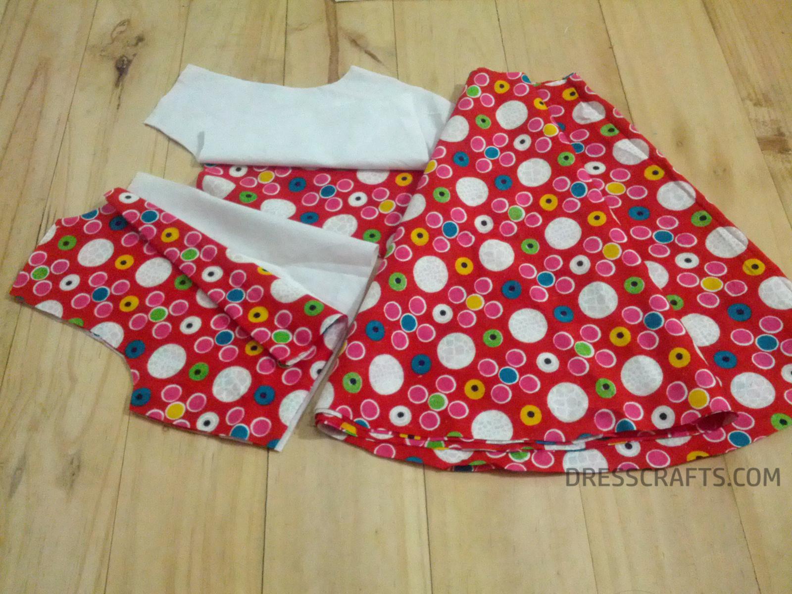 Full Cutting Circle Skirt Dress