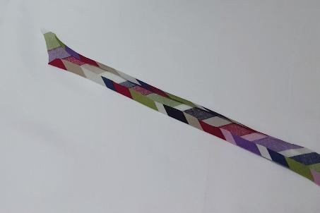 Single Fold Biastape making