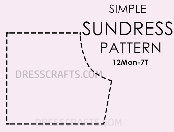 SUNDRESS FREE PATTERN