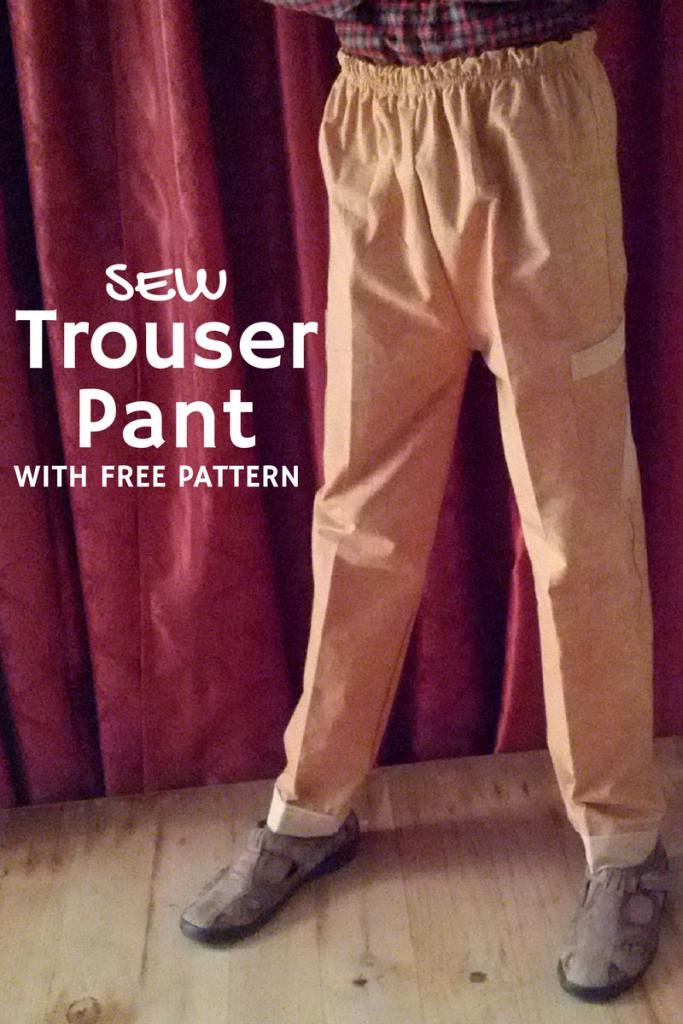 Trouser Pant FREE PATTERN