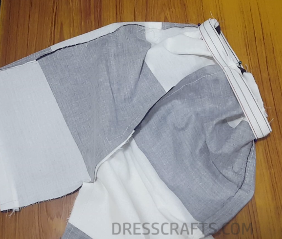 Elastic waistband step 11