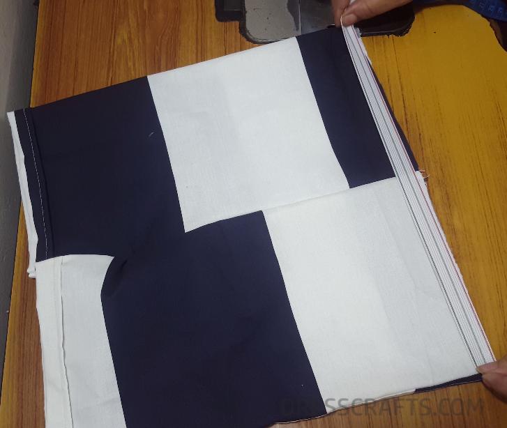 Elastic waistband step 2
