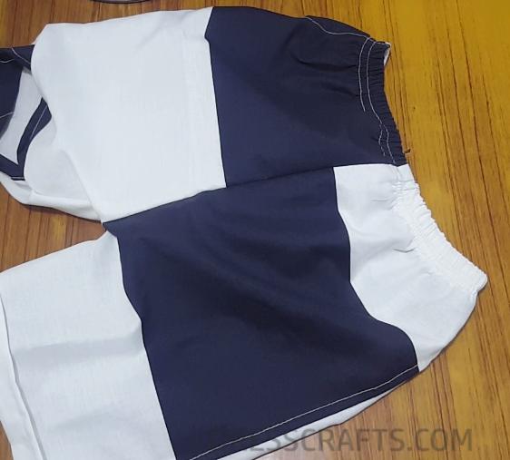 Elastic waistband casing