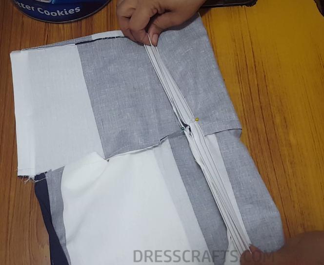 Elastic waistband step 7