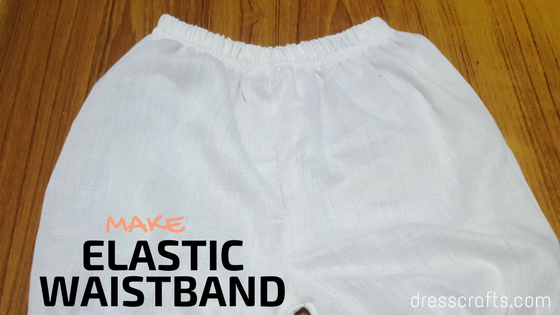 Make Easy Elastic Waistband
