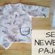 Sew newborn pajama