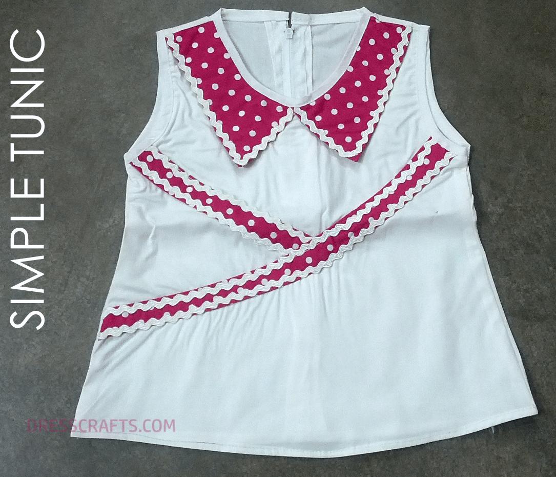 Free Pattern of Aline Shirt