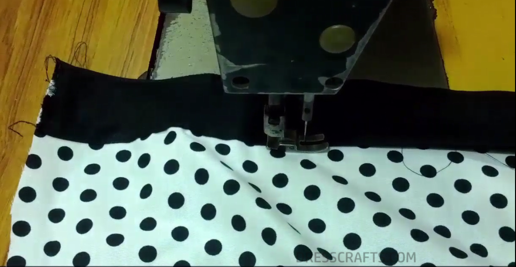 Pillowcase Dress sewing step 3