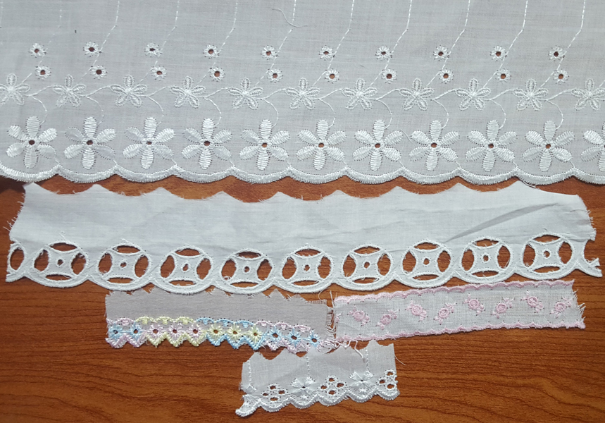 All purpose eyelet lace
