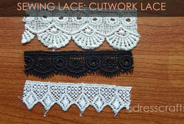 Cutwork Lace and bobbin Lace