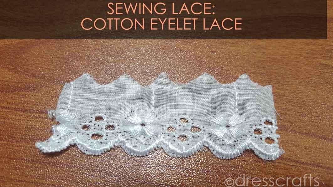 Eyelet Cotton Lace