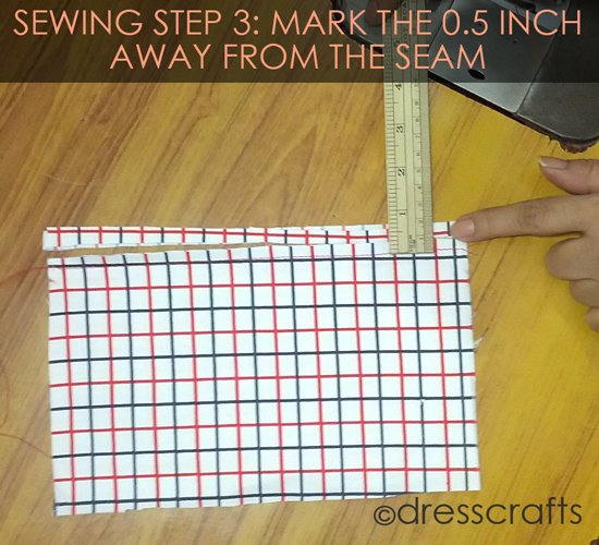 French Seam Sewing Step-3