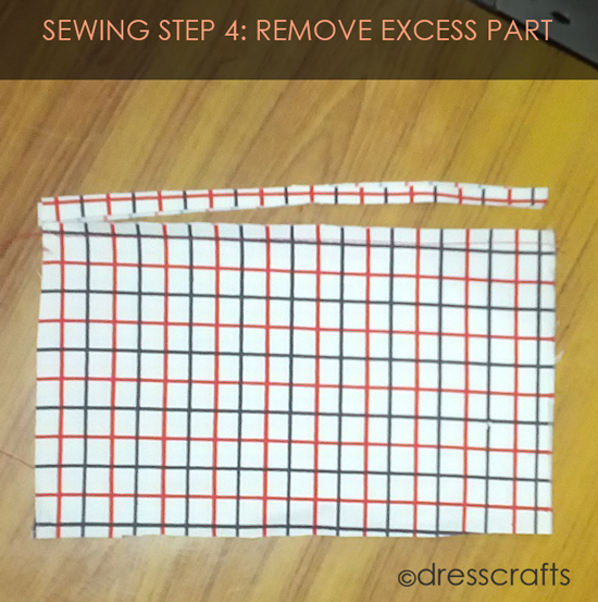 French Seam Sewing Step-4