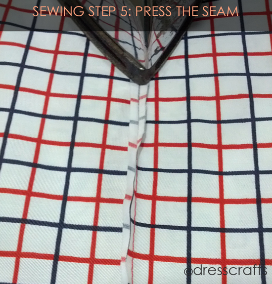 French Seam Sewing Step-5