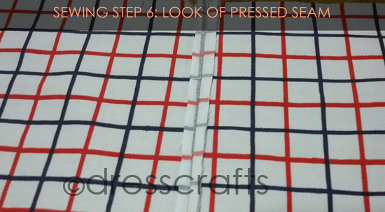 French Seam Sewing Step-6