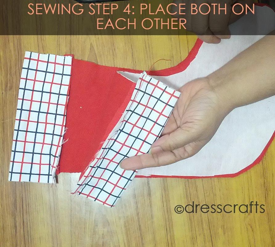 STOCKING SEWING STEP 4