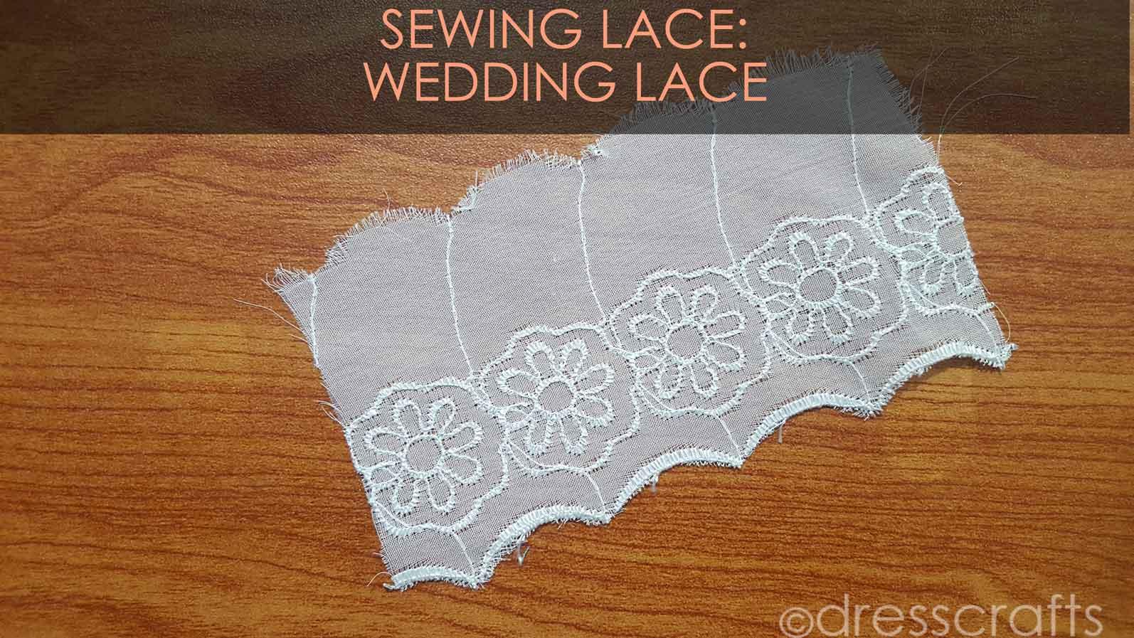 Wedding white lace