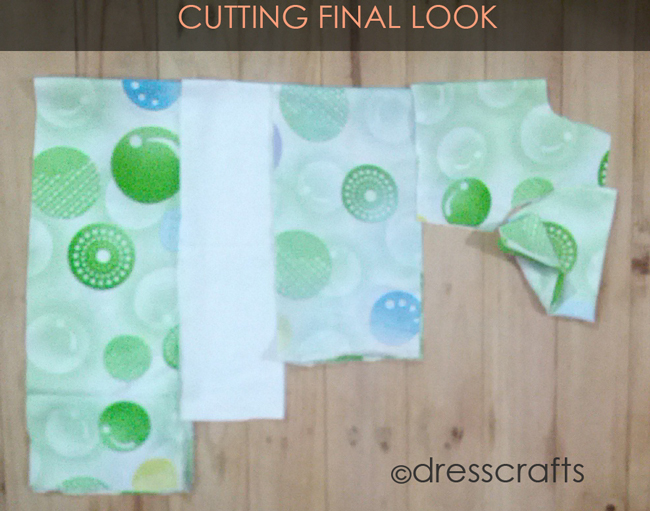 Cutting Ruffles full Steps