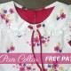 peter pan collar with free pattern