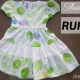 three layer ruffles