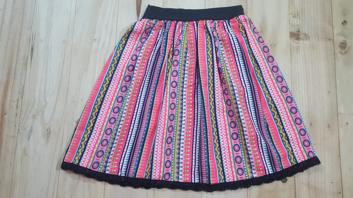 Simple and Easy Skirt Pattern