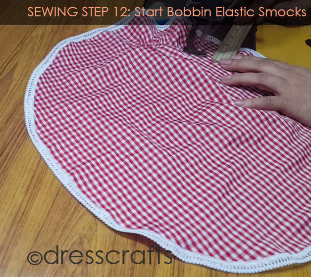 Sewing Sun hat: Step 12