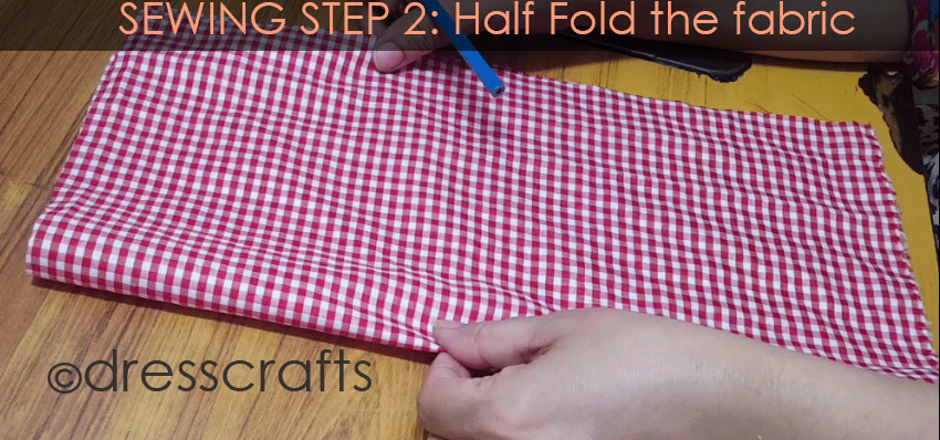Sewing Sun hat: Step 2