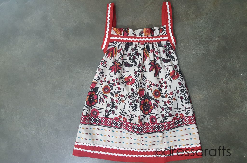 Baby Paper Bag Dress
