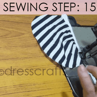 Convert Tshirt into Top - Sewing Step 15