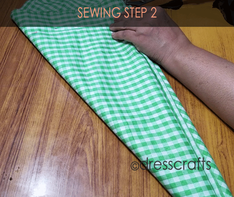 Flared Top sewing step 2